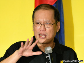 noynoy aquino surge in poll